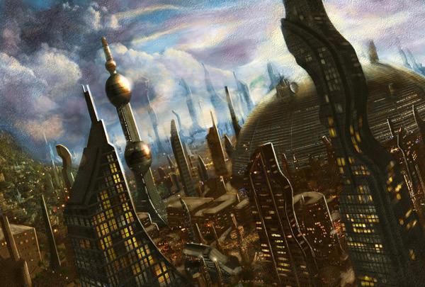 органический город