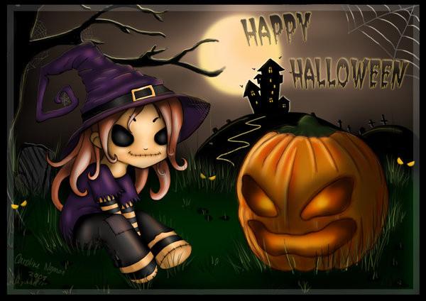 Хеллоуин открытки
