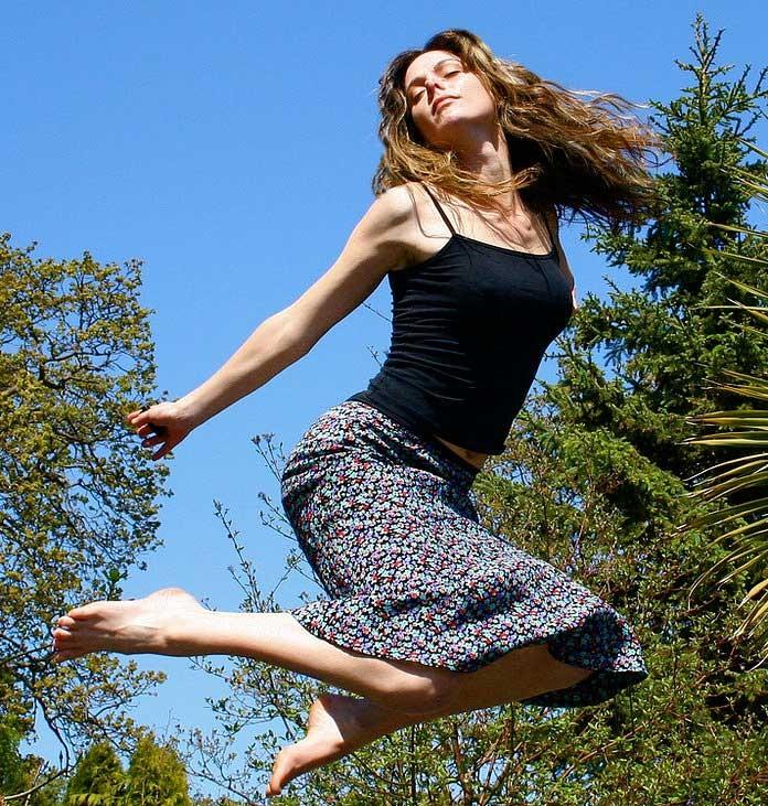фильтрацией как красиво сфотографироваться в прыжке садовод может