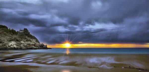 Размышления на берегу моря