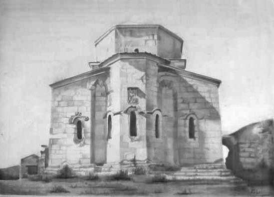 Dschwari-Kloster in Mzkcheta, Georgien | 2000