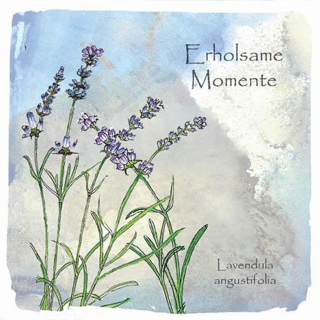 Lavendel, Aquarell Kunstdruck © Britta Jessen