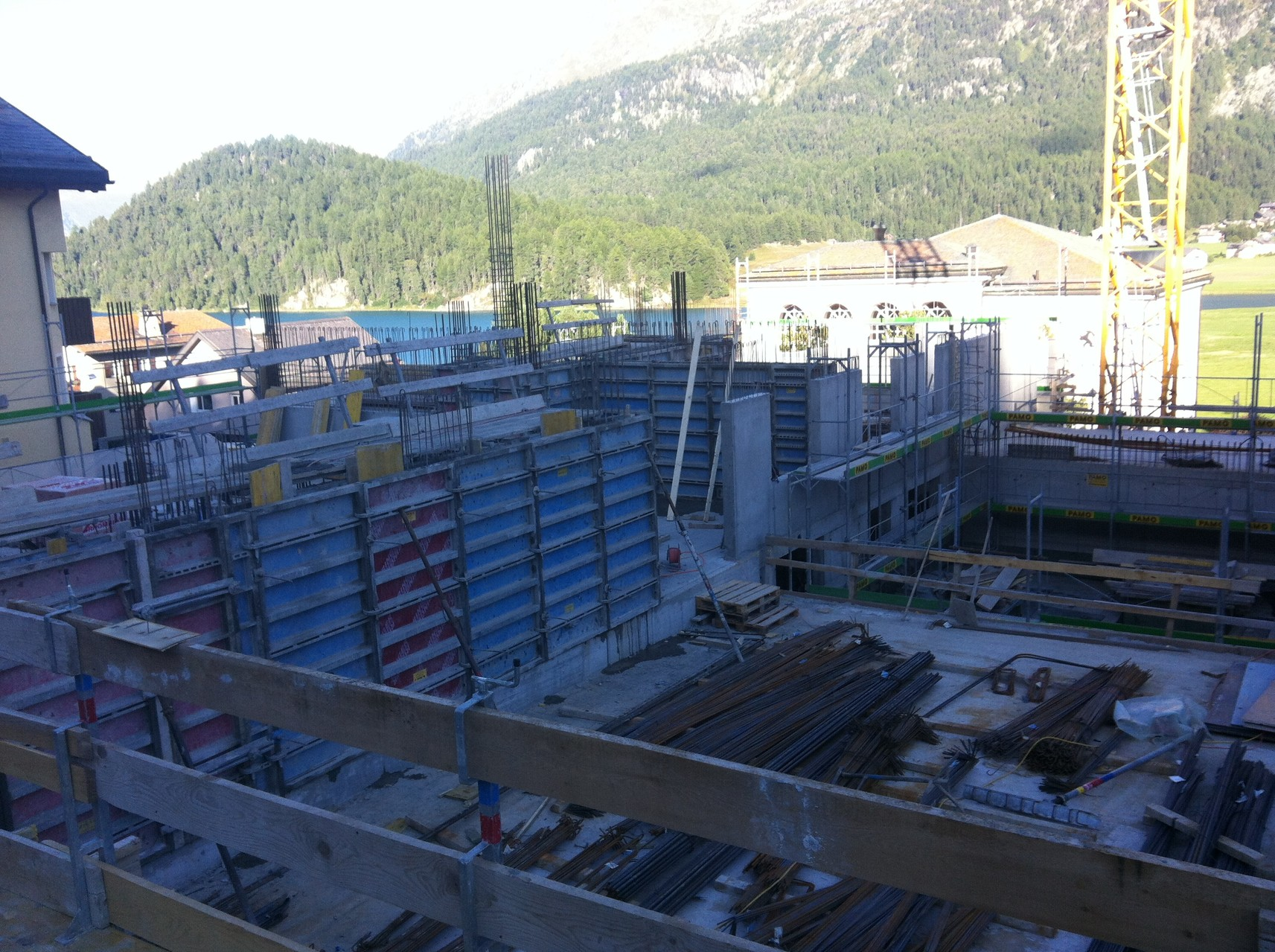Baustelle September 2013