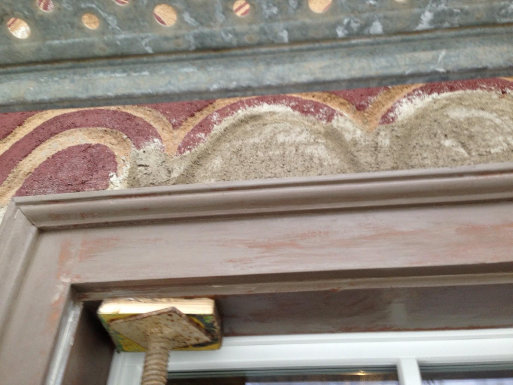 Restaurierung Fassade durch Ivano Rampa und Fa. Greiner