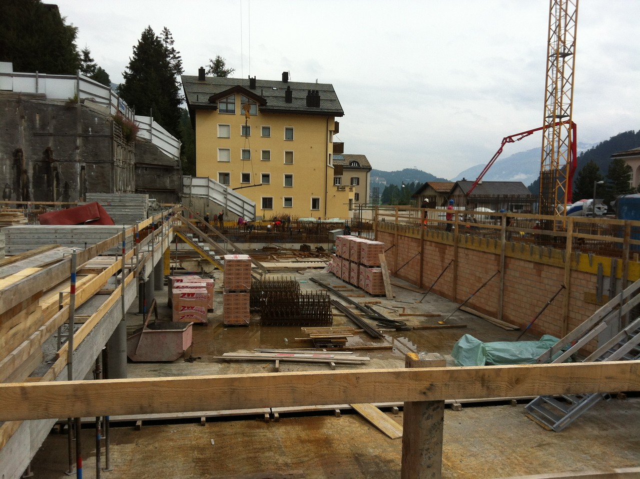 Baustelle September 2012