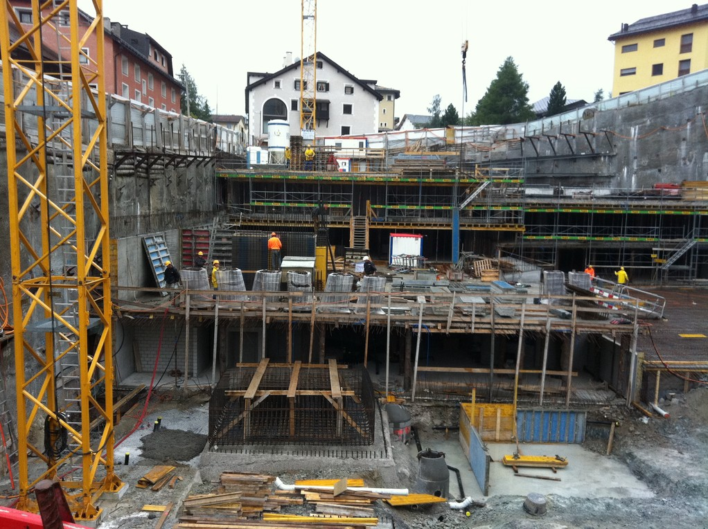 Baustelle September 2011