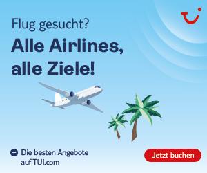Flugstatus der TUI fly - Kinderfestpreis