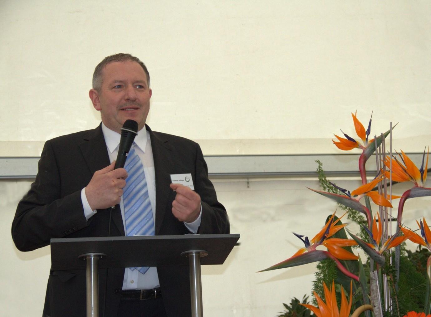 Reinhold Zeilinger, Geschäftsführer