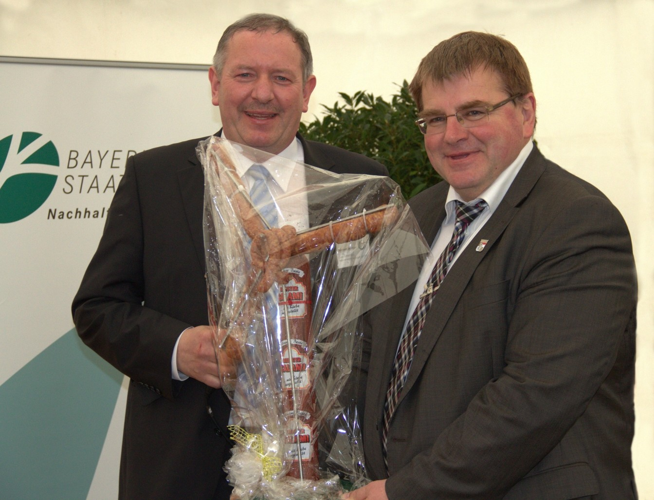 Reinhold Zeilinger, Harry Scheuenstuhl, MdL