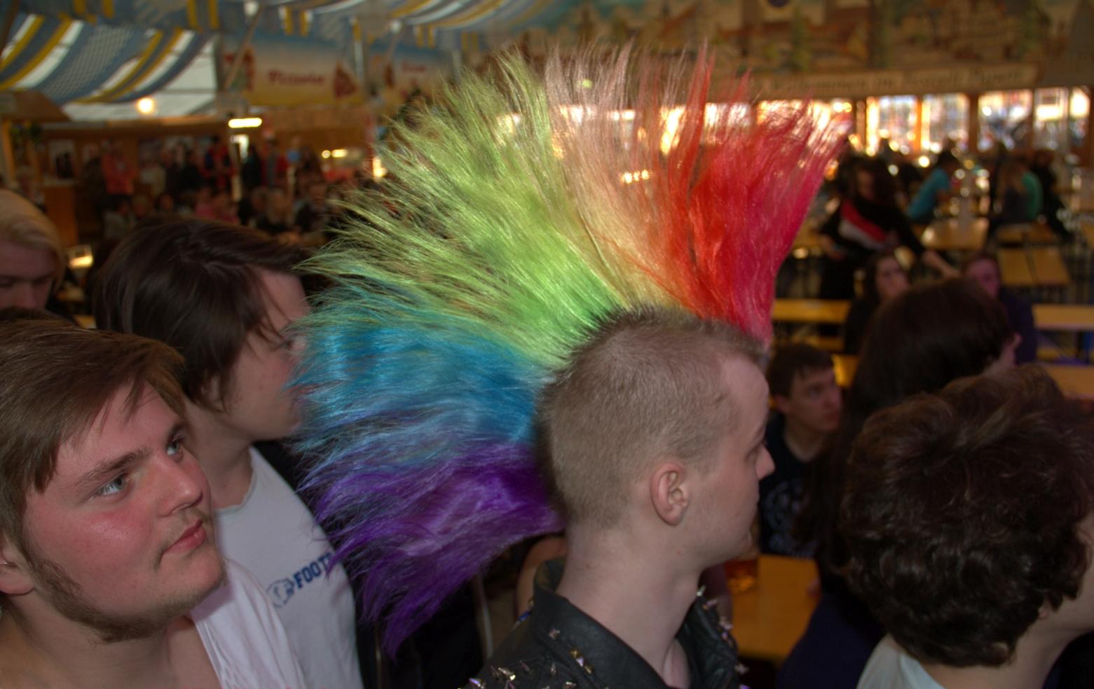 Sämtliche Regenbogen-Farben