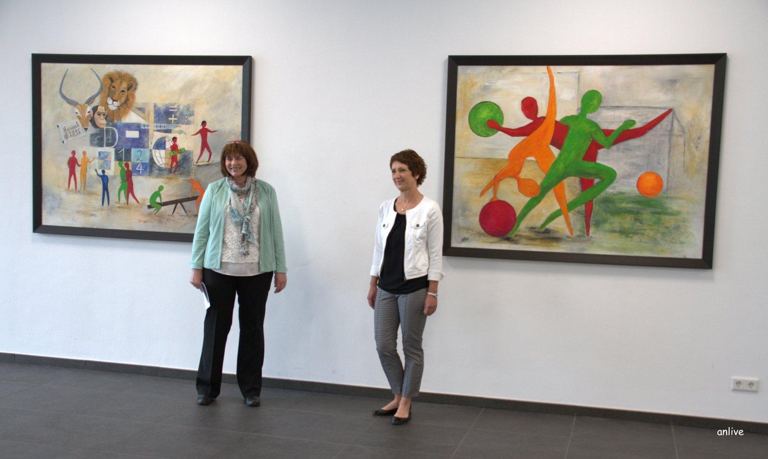 v.l. Annemarie Nun - Hanne Weber