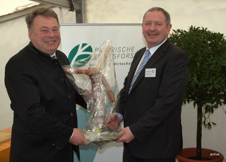 Helmut Brunner, Landwirtschaftsminister, Reinhold Zeilinger, Geschäftsführer