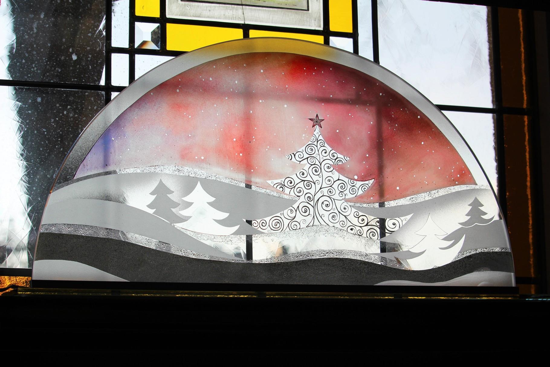 Weihnachtsbaum Motiv