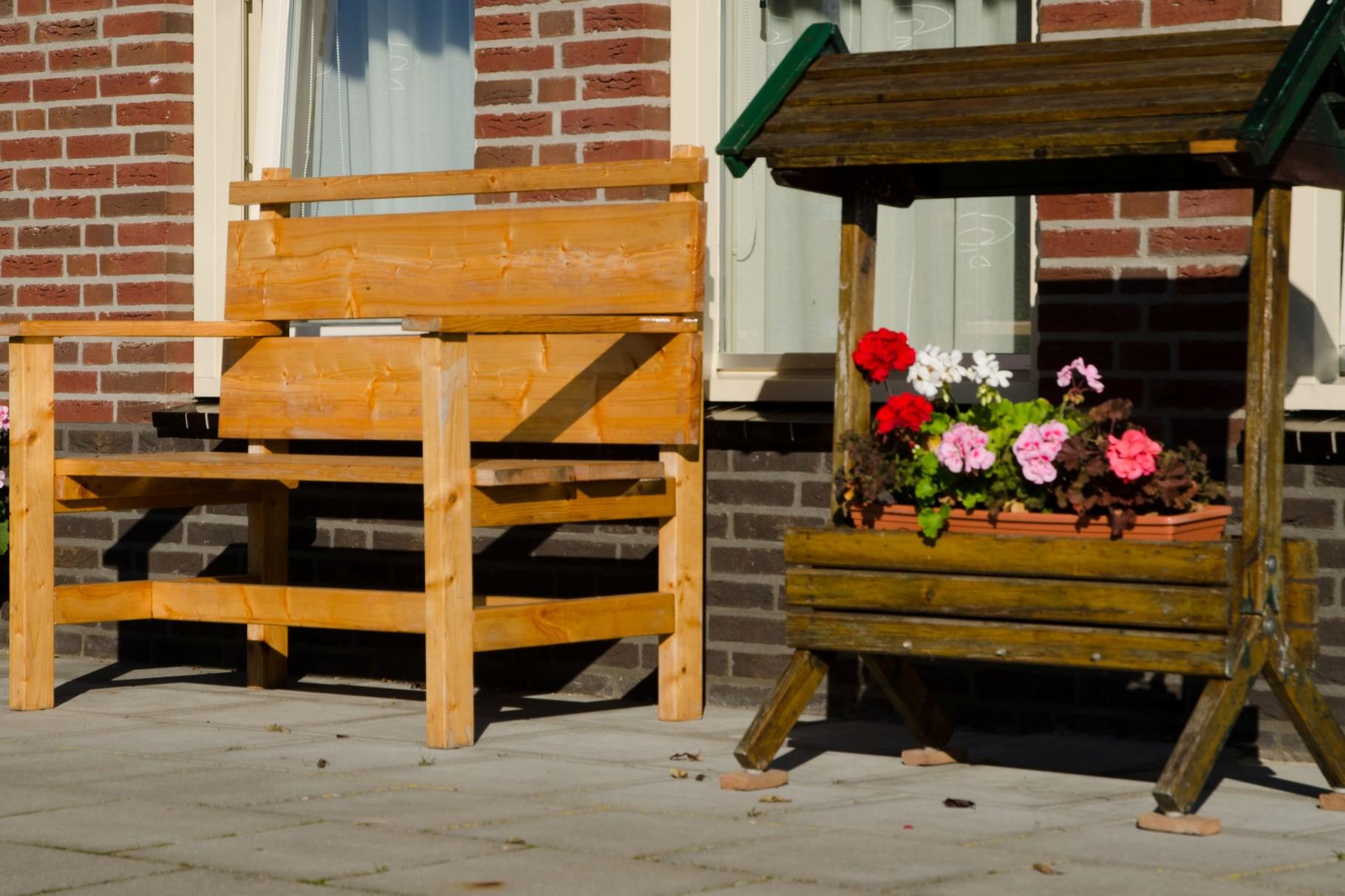 Gezamenlijke terrassen en privé terrassen
