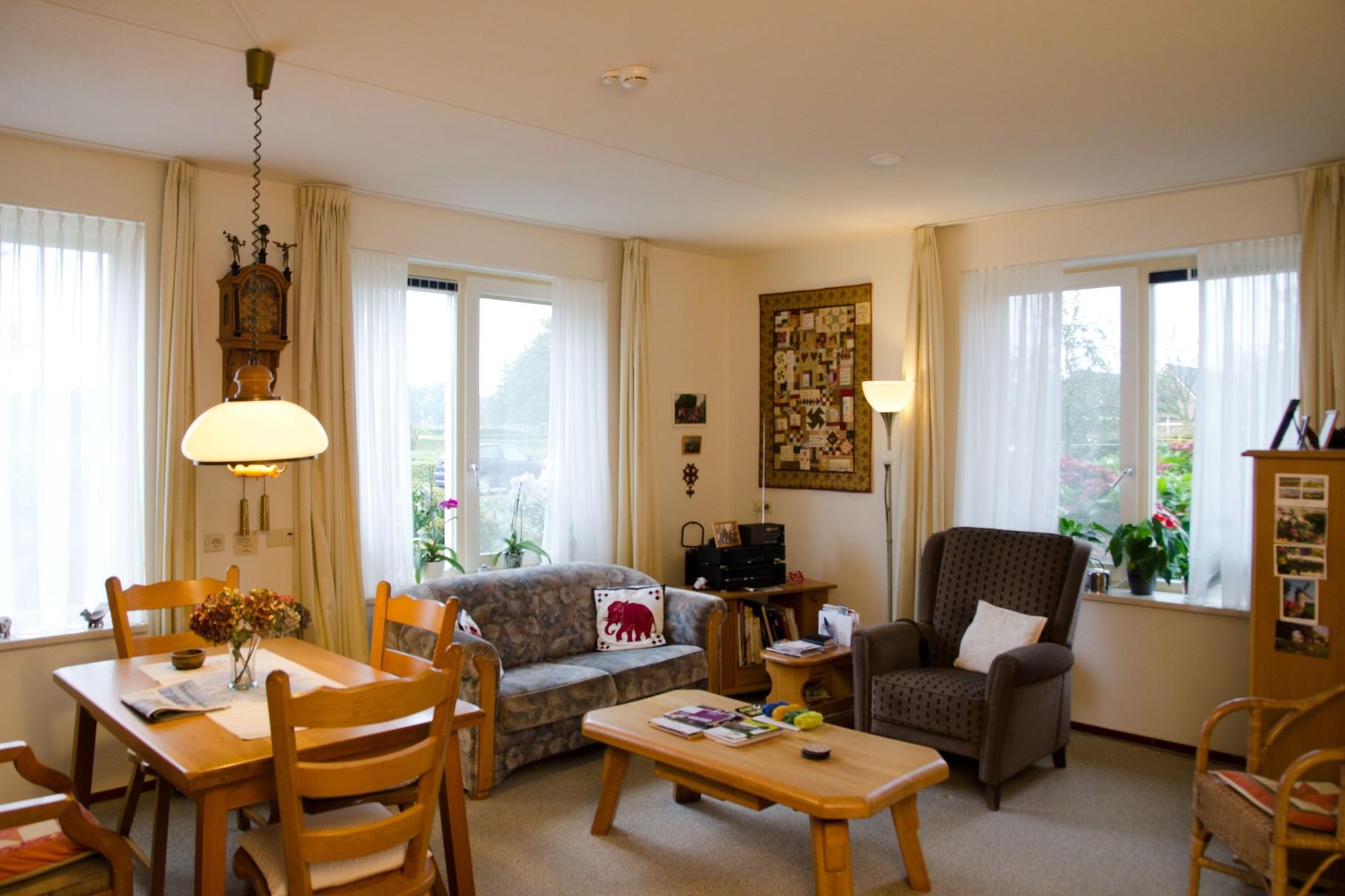Zorgappartement woonkamer en keuken