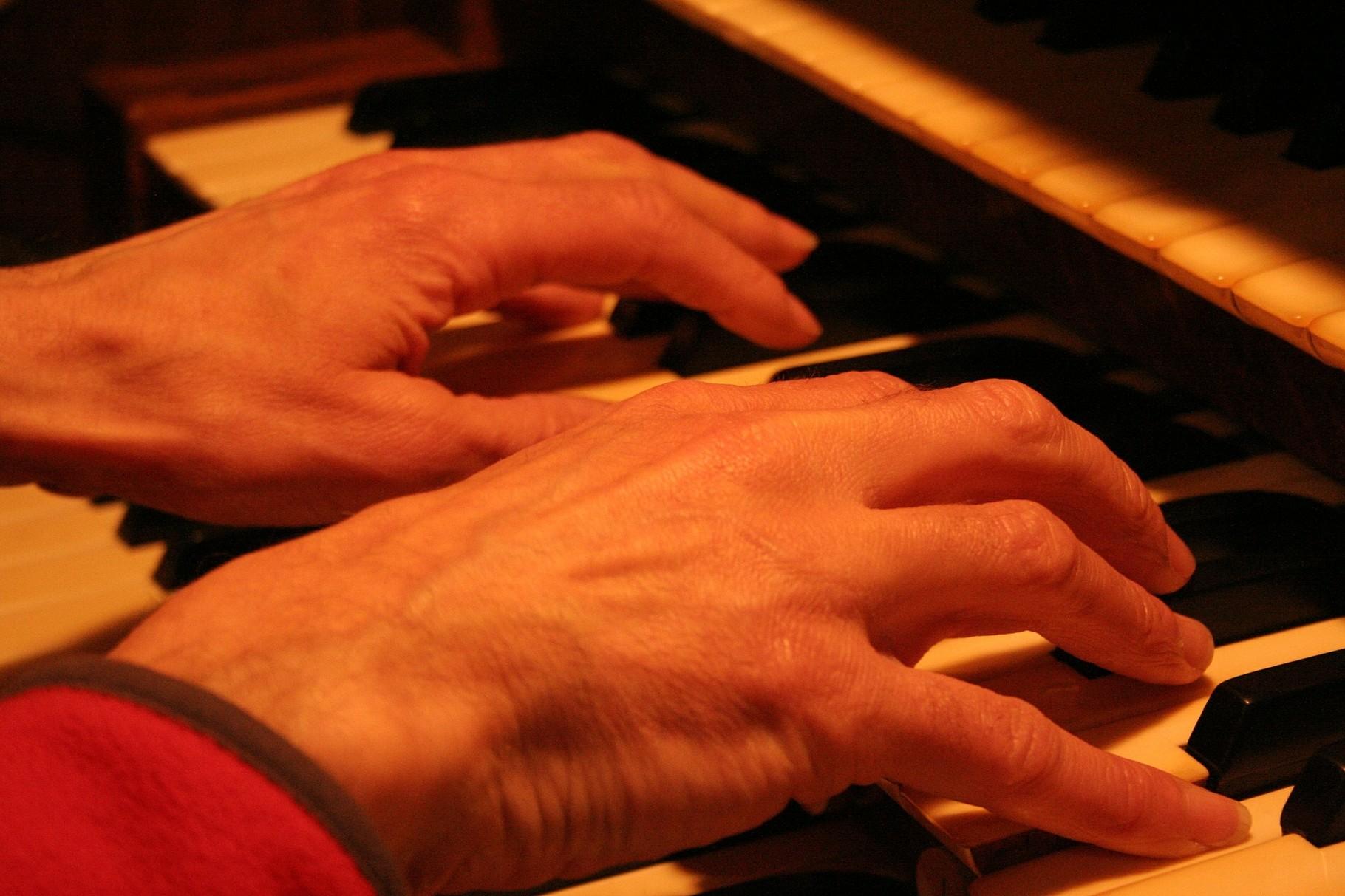 Zingen bij het orgel
