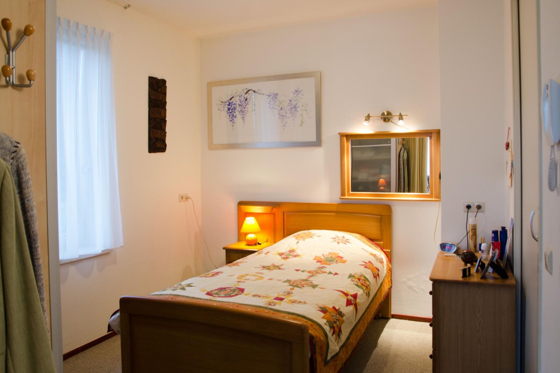Zorgappartement slaapkamer