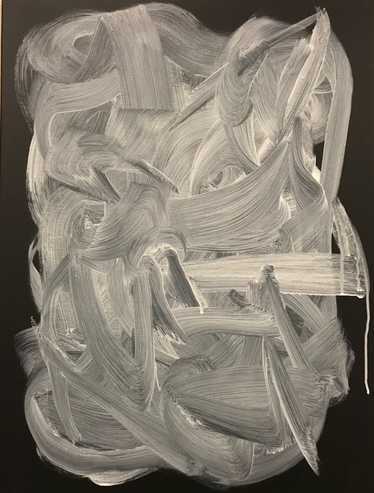John , Acrylic on canvas / 80 x 60 cm