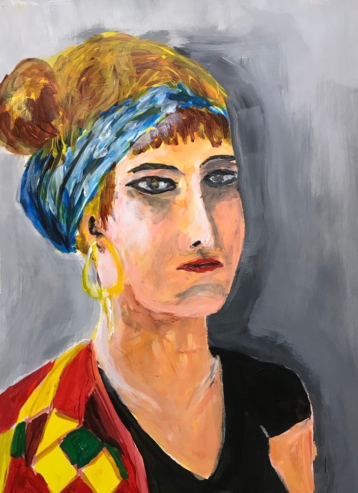 OT , Acryl on paper / 50 x 35 2019 / 122