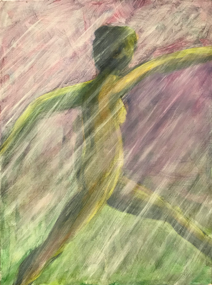 Joy in living, Acrylic on canvas / 80 x 60 cm