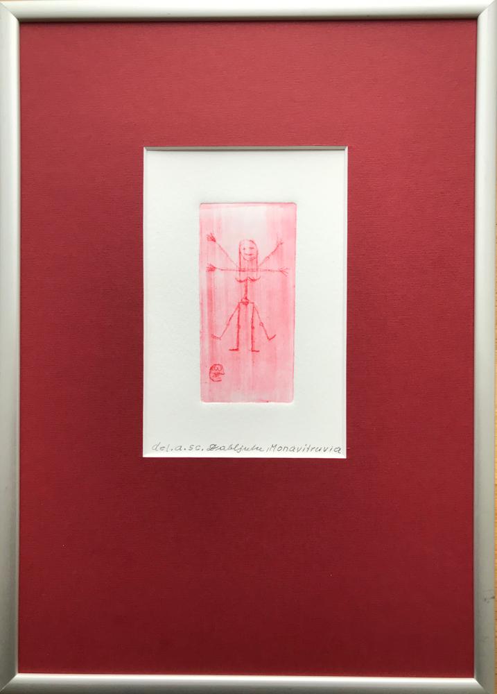 Monavitruvia, St. engraving / del. and sc. Dabljuke / 29,7 x 21 cm / 2019 , 14