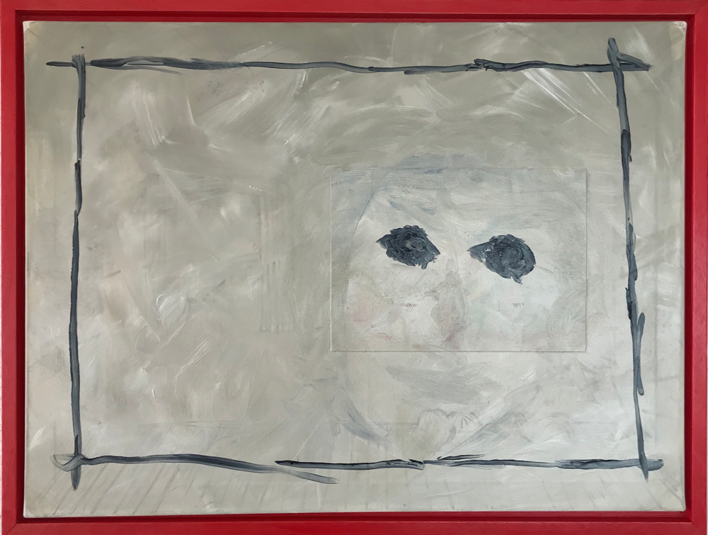 The first picture by himself and the almost last self portrait, Oil on canvas / 60 x 80 cm