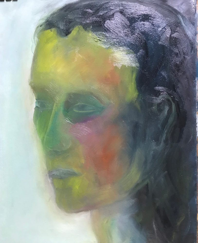 Lola , Oil on canvas / 70 x 53 cm / 2019 / 121