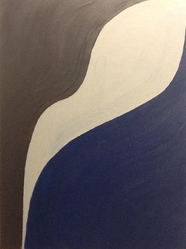 Japanese Garden, Acrylic on canvas / 70 x 50 cm