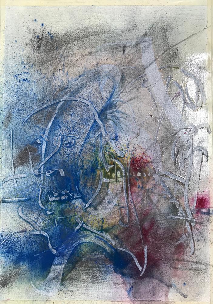 Homo ludens series 17 / Mmoc / 60 x 41 cm / 2019 / 133