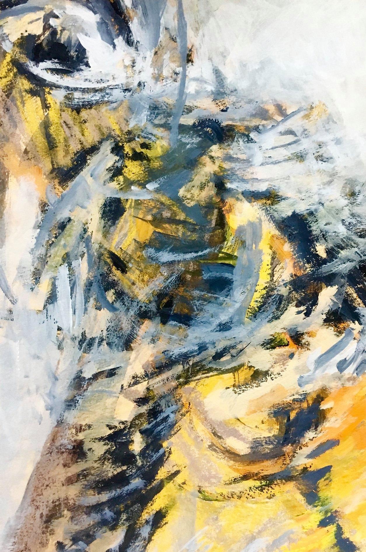 "43 / ALBERTA PIAZZA, ""ANTROPOCENE 1"", 20 x 30 cm."