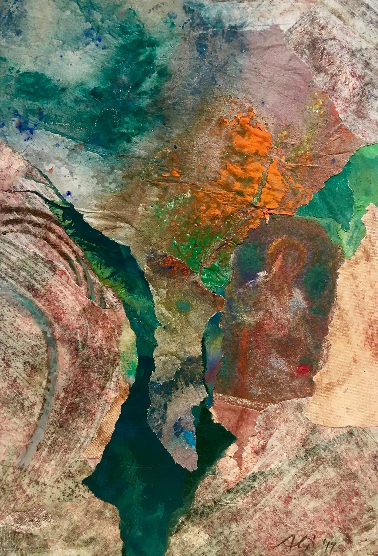 """7 / ALIDA BRUNATI, """"FRAMMENTO DI PASSATO"""", 20 x 30 cm."""