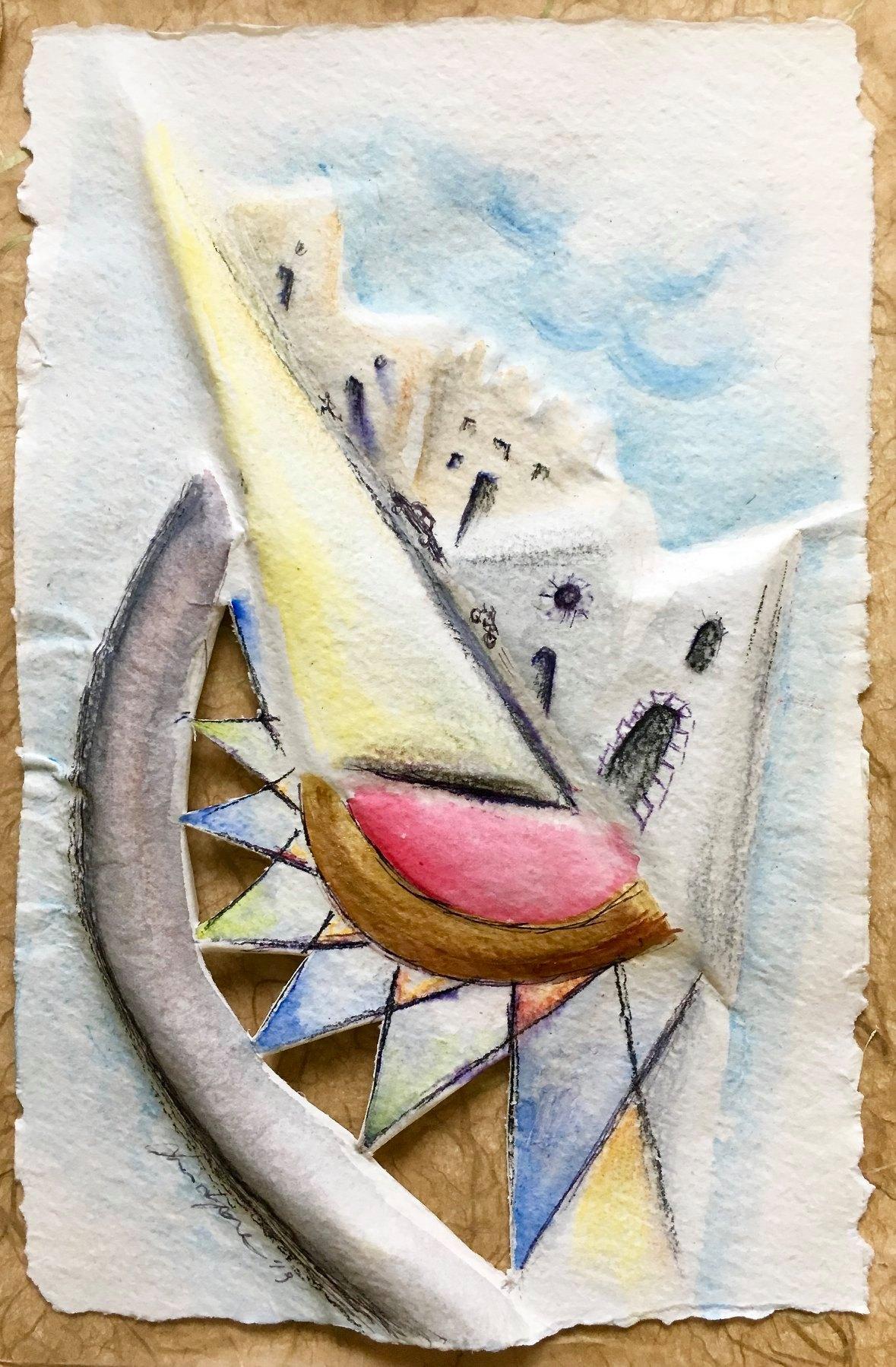 "27 / LAURA LEPORE, ""URBS - FRAMMENTO 1"", 20 x 30 cm."