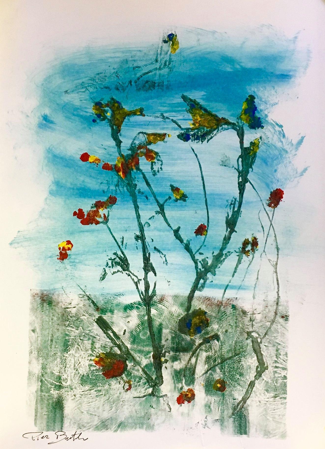 """5 / PIER BERTOLO, """"ARGENTARIO"""", 20 x 30 cm."""
