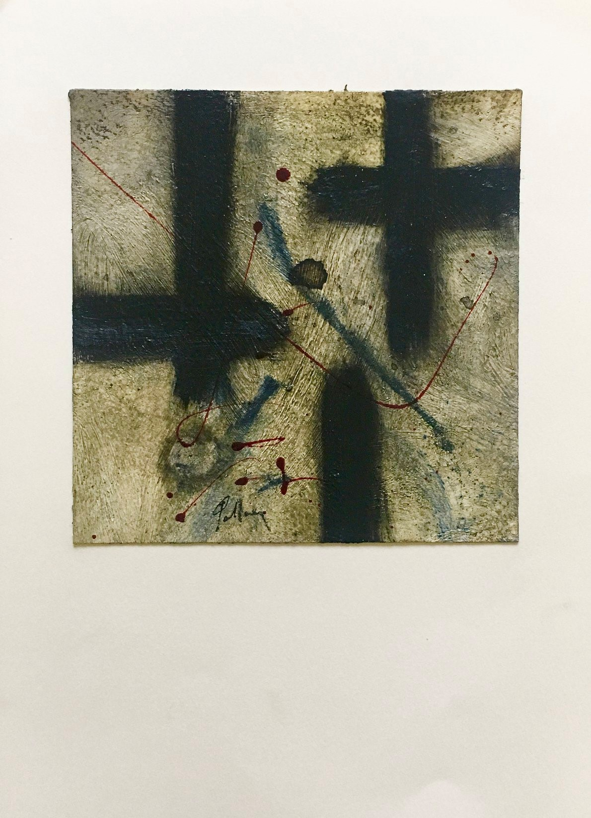 "40 / PAOLO PALLARA, ""SENZA TITOLO"", 20 x 30 cm."