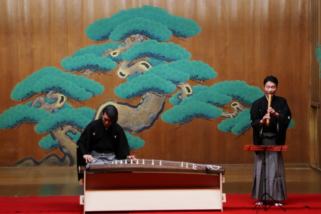 <第2部>筝曲  筝…LEO、尺八…折本慶太