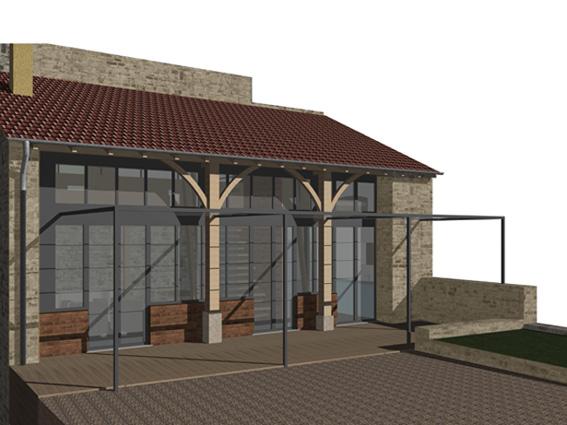 projet : aménagement stile atelier (visualisation odermatt architectes lalinde)