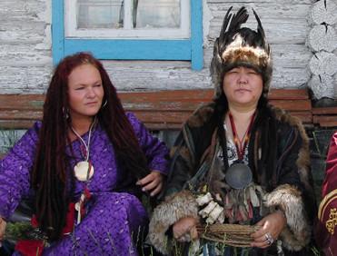 Schamanin der Stimme, Ai-Churek, Tuva, Sibirien