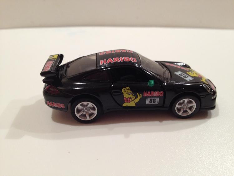 Porsche 911 Carrera S Nr.1006 Haribo/schwarz
