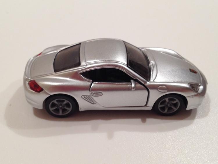 Porsche Cayman S Nr.1433 silber
