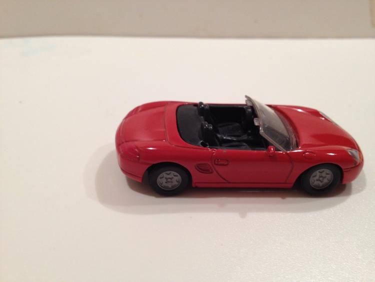 Porsche Boxter Nr.0849 rot
