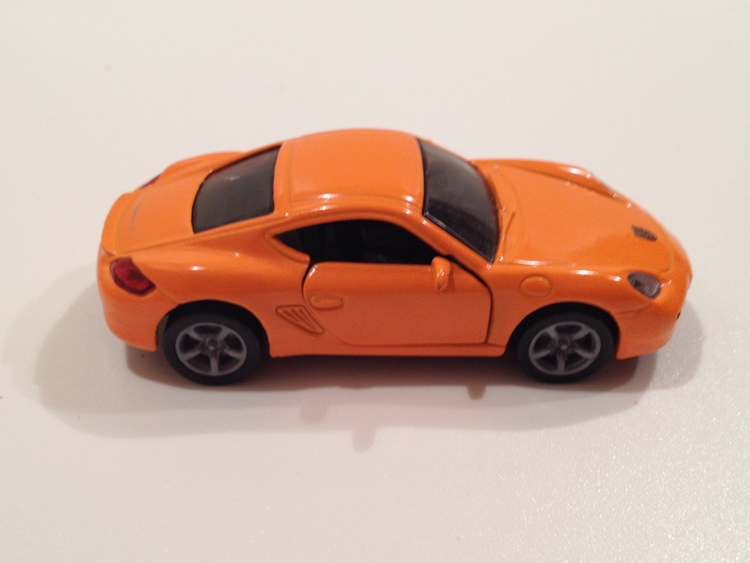 Porsche Cayman S Nr.1433 orange