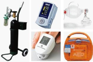 酸素 パルスオキシメーター AED