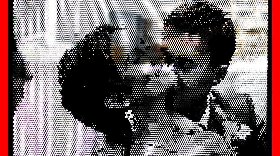 Lochblechdesign Paarbild Pinnwand Lochblechfoto  Fotoblech Motivlochblech