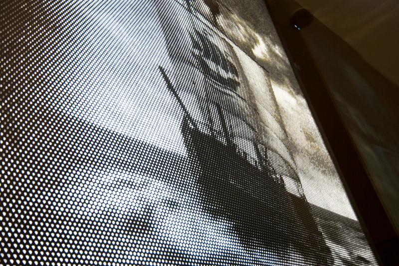 Neustes Projekt Lochblechdesign Fotoblech Elbphilharmonie in Hamburg