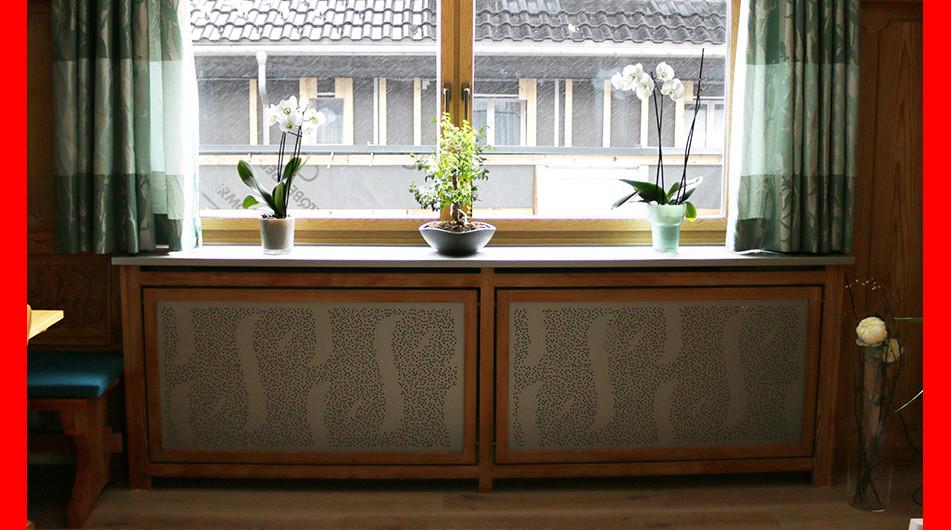 Lochblechdesign Heizkörperverkleidung Lochblechfoto  Fotoblech Motivlochblech