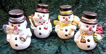 Kleine Schneemänner