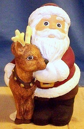 Nikolaus mit Rentier