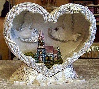 Herz mit Kirche