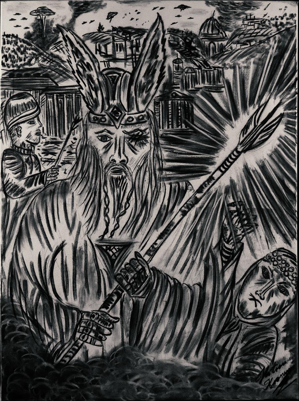 Odin und die Verteidigung von Thule