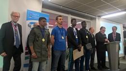 Les médaillés départementaux